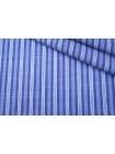 Рубашечный хлопок в полоску бело-голубой PRT-A70 22042027