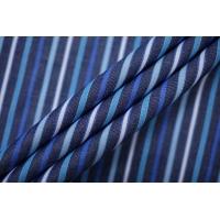 Поплин рубашечный в бело-синюю полоску PRT-F3 25042005