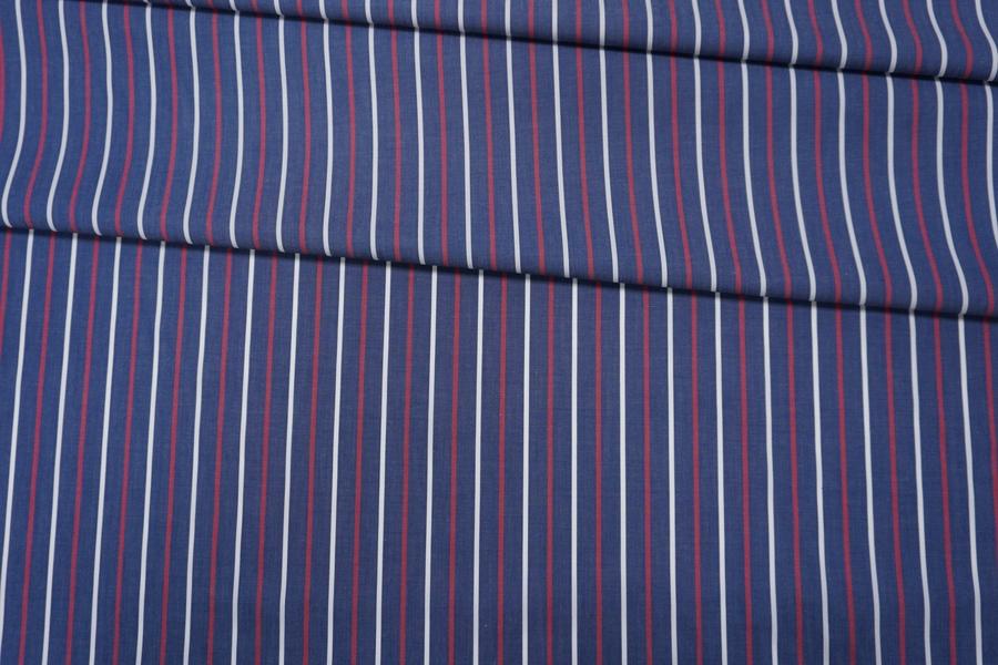 Поплин рубашечный в полоску PRT-G5 30042013