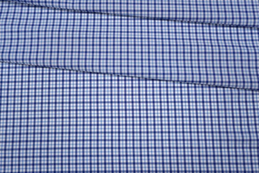 Поплин рубашечный в клетку PRT-B50 30042019