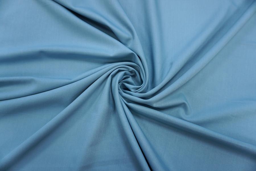 ОТРЕЗ 2 М Костюмно-плательная поливискоза голубая BT-(22)-9100737-1