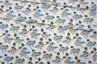 Костюмно-плательная джинса пальмы LEO-F6 19022009