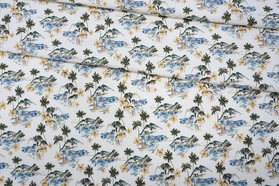 Костюмно-плательная джинса пальмы LEO-W5 19022009