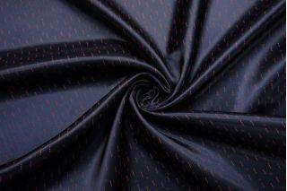 Подкладочная ткань темно-синяя с бордовыми треугольниками SF-BB70 09122094