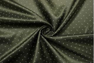 Подкладочная вискоза зеленая орнамент SF-B2 18122010