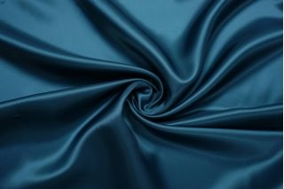 Подкладочная вискоза темная сине-бирюзовая FRM.H-BB70 18122033