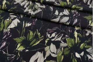 Костюмно-плательная шерсть Prada с цветами NRV-E3 23122001