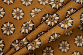 Костюмно-плательная шерсть Prada коричнево-карамельная NRV-E3 23122002