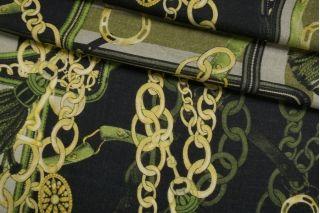 Плательный шерстяной твил Hermes цепи NRV-E3 23122004