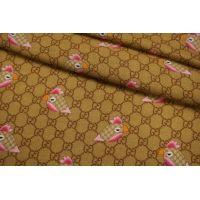 Плательный шерстяной твил Gucci попугаи NRV-DD30 23122005