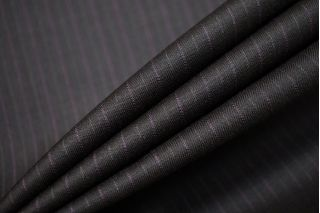 Тонкая костюмно-плательная шерсть в полоску SR.H-CC50 23122013