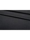 Тонкая костюмно-плательная шерсть серая в полоску SR-CC50 23122017