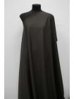 ОТРЕЗ 1,2 М Тонкая костюмно-плательная шерсть коричневая в полоску SR.H-(51)-23122021-1