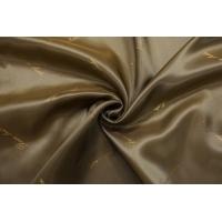 Подкладочная вискоза золотисто-болотная Bosso Leather SF-B4 23122023