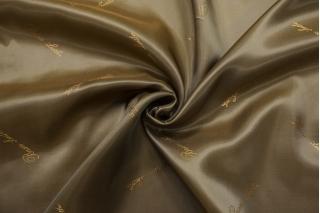 Подкладочная вискоза золотисто-болотная Bosso Leather SF-BB40 23122023