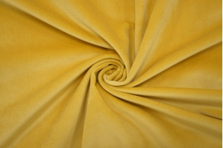 Бархат хлопковый желтый PRT-A6 15032013