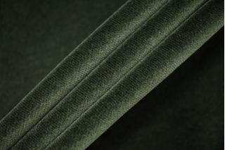 Бархат хлопковый темно-зеленый PRT-A6 15032014