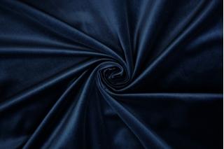 Бархат хлопковый темно-синий PRT-A7 15032015
