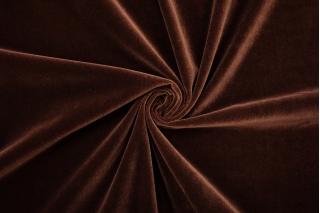 Бархат хлопковый темный шоколад PRT-A6 15032017