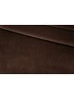 Бархат хлопковый темно-коричневый PRT-K60 15032018