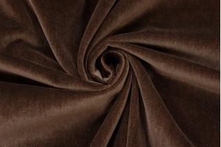 Бархат хлопковый темно-коричневый PRT-A4 15032018