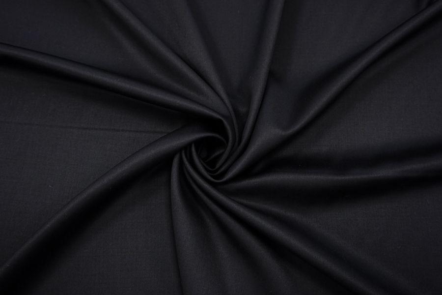 Костюмно-плательная шерсть черная TRC-C4 09102033