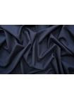 Костюмно-плательная шерсть с шелком черно-синяя TXH.H-D5 09102035