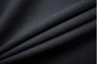 Плательный креп шерстяной черный TXH-W4 09102036