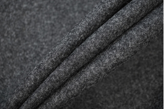 ОТРЕЗ 0,5 М Костюмная шерсть темно-серая TRC-(66)- 09102040-1