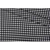 Хлопок рубашечно-плательный в черно-белую клетку TXH.H-G3 09102046