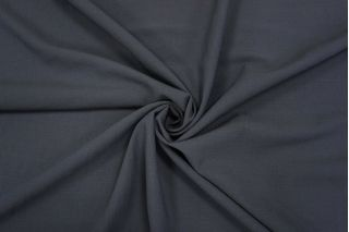 Плательная шерстяная марлевка темно-серая TXH-W4 09102048