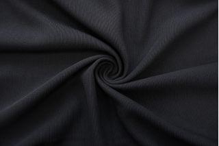 Костюмная шерсть с хлопком черная TXH.H-CC40 09102049