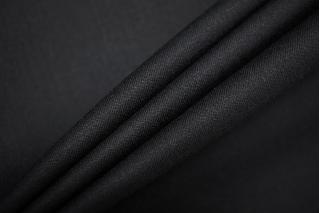 Костюмно-плательная шерсть черная TXH-W4 09102051