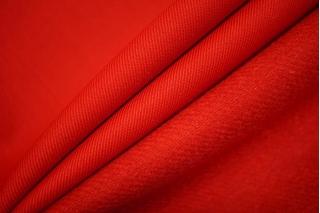 Костюмная шерсть плотная красная TRC-D6 09102053