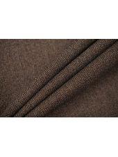 Плательная шерстяная марлевка коричневая TXH-B4 09102060