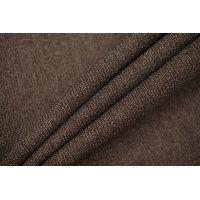 Плательная шерстяная марлевка коричневая TXH 09102060