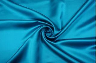 Атлас плотный костюмно-плательный бирюзово-голубой Tom Ford TRC-i5 20102003