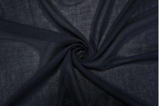 Плательная шерстяная марлевка темно-синяя TXH.H-D6 20102013