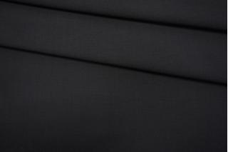 Костюмный шерстяной репс черный TXH-A7 20102016