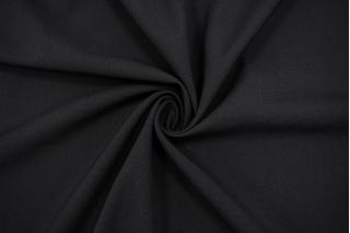 Костюмный шерстяной репс черный TXH.H-D6 20102016