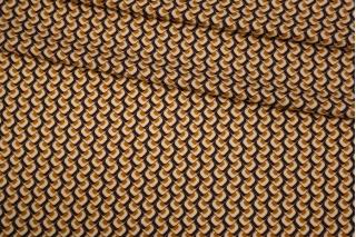 Твил орнамент винно-оранжевый LEO-H4 20102052