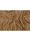 ОТРЕЗ 0,4 М Твил орнамент винно-оранжевый LEO-(35)- 20102052-2