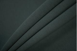 Двойной креп-кади костюмно-плательный темно-зеленый Tom Ford TRC-i7 04082037
