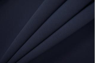 Двойной креп-кади костюмно-плательный темно-синий Tom Ford TRC-I7 04082038