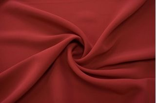 Двойной креп-кади костюмно-плательный темно-красный Tom Ford TRC-I7 04082044