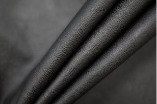 Кожзам-стрейч на хлопке черный PRT-I2 16032016