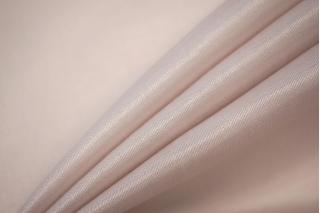 ОТРЕЗ 2 М Блузочный шелковый сатин бледный розовато-бежевый PRT-(32)- 19032013-6