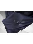Блузочный шелковый сатин темно-синий PRT-C6 19032015
