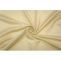 ОТРЕЗ 0,75 М Блузочный шелковый сатин бледно-желтый PRT-C6 19032017-1