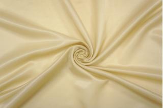 Блузочный шелковый сатин бледно-желтый PRT-C6 19032017